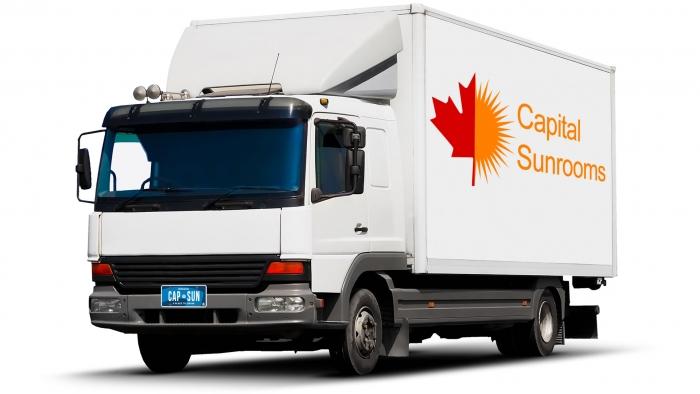 Capital Sunrooms Shipping