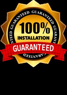Installation Guaranteed
